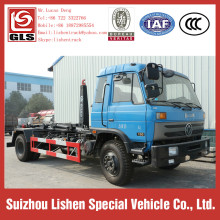 Dongfeng Hook Lift camion à ordures 190hp