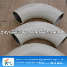Tuyau de coude de pompe concrète / courbure avec 15-180 degrés