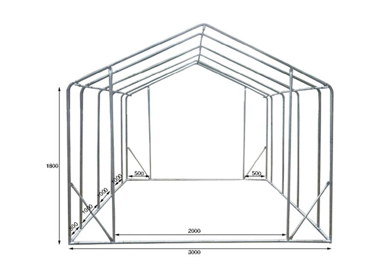 One Stop Garden Greenhouses Construction  For Sale