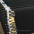фабрика панели декоративные алюминиевые ограждения трубчатые панели забора со стрелками