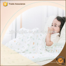 De alta calidad Soft Touch 100% muselina waddle manta fábrica de China