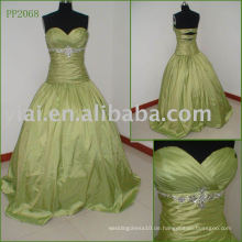 Elegante Silk Taft Sexy Real Party Kleid PP2068