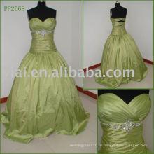 Элегантная шелковая Тафта сексуальный вечеринку платье PP2068