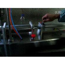 Halbautomatische Flüssigkeitsabfüllmaschine für Öl, Saft, Milch, Mineralwasser