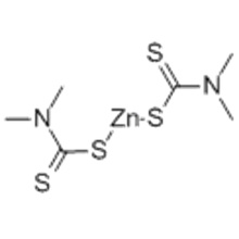 Zinc bis dimethyldithiocarbamate CAS 137-30-4