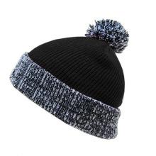 Top Ball Winter Crochet Knitted Hat