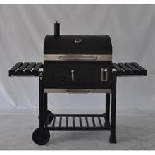 BBQ Charcoal Grill with Wind Shield