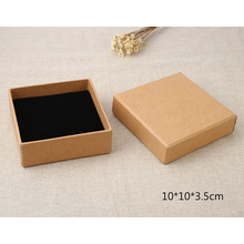 Square Brown Kraft Paper Gift Packing Box