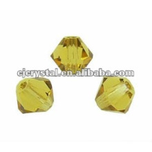 Vidro bicone contas, vidro beads fabricantes