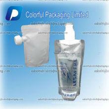 Plastikmitte spritzte Verpackungsbeutel für Omega-Frucht und Veggie
