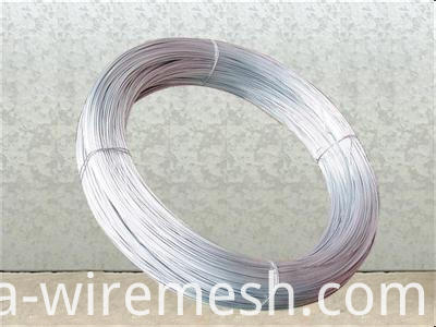 high quality MS hot dipped galvanized galfan steel wire 20 g (1)