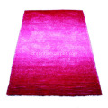 Polyester Silk Shaggy dengan Loop Carpet