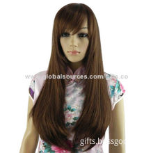 Fashion hair style 100% virgin hair lace wig, OEM orders are welcome