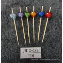 Горячий-Продайте инструмент для барбекю Eco Bamboo Skewer / Stick / Pick (BC-BS1036)
