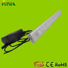 Sensor de luz de LED guarda-roupa com 4 seções AA bateria
