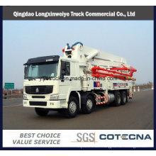 37m&42m 8X4 HOWO 380HP Concrete Pump Trucks with Rhd Type