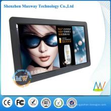 16: 9 de resolução 1366x768 HD 15,6 polegadas FCC / ROHS / CE moldura digital com MP4