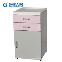SKS007-1 Cabinets de tiroir de chevet d'hôpital en plastique