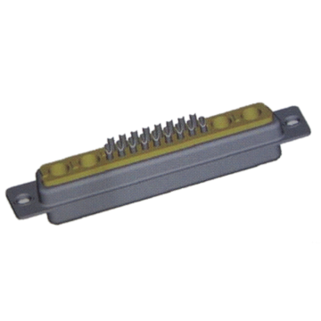 21W4 D-sub Coaxial Connector Female Solder Cup
