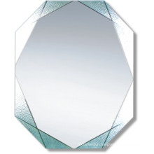 Economical Decorative Silver Bathroom Mirror (JNA037)