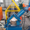Door frame shutter door machine