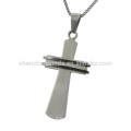 Nova chegada moda design de aço inoxidável cruz pingente de jóias