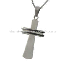 new arrival fashion design stainless steel cross pendant jewelry