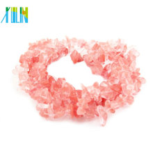 80Cm Strands Watermelon Quartz Natural Gemstone Chips Beads