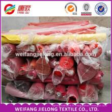 Tissu de sergé uniforme T / C 65/35 21 * 16 128 * 60 tissu teint en sergé teint pour vêtements de travail, uniforme scolaire, vêtement,