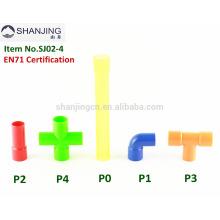 Brinquedos de montagem de inteligência educacional jogo pipeline blocos brinquedos para crianças