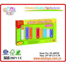 Musical xilófono teclado de juguete para niños de promoción