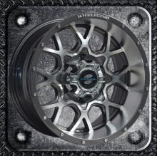 Black machine face 15 16 inch SUV car wheel