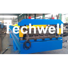 3 Kw Hydraulic Motor Power Trapezoidal Roofing Sheet Roll Forming Machine Tw-rwm