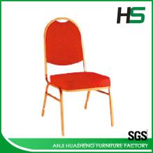 Оранжевый с рисунком ткань стул 308-9
