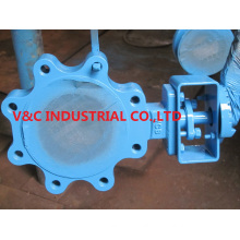 Lug Butterfly Valve with Triple Eccentric Design