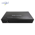 2SFP slots+4 gigabit ethernet ports 10/100/1000 Base Media Converter