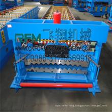 FX feitian roofing corrugated galvanized sheet making machine