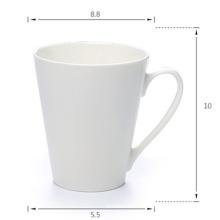2016 Kundenspezifische Farbe und Logo Kaffee-keramische Schale für förderndes