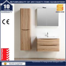 2016 Новая мебель Меламин МДФ ванной шкаф для хранения для гостиницы