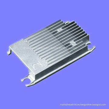 Moldeado a la medida de la aleación de aluminio de la precisión para la pieza de la cubierta
