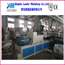 Plastic Twin Double Screw Extruder