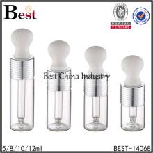 exhibición blanca de la botella del dropper para el perfume, exhibición blanca de la botella del dropper para el cosmético