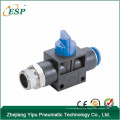 zhejiang esp pneumatic straight thread-fitting hand nipple valve