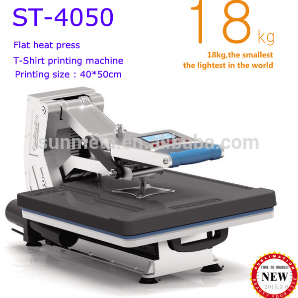T Shirt Printing Machine With Automatic Hydraulic System