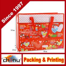 Promoção embalagem de compras não tecidos saco (920054)