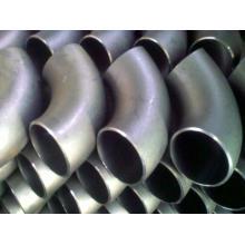 Cotovelo de aço inoxidável, acessórios de tubulação de solda Butt, Cotovelo Ss304 316