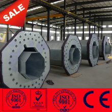 10KV 11KV 38KV Galvanized steel pole