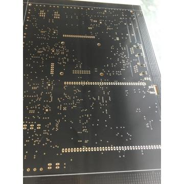 2 Llayer 1.6mm black solder ENIG PCB