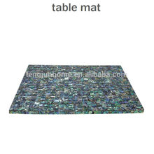 CBM-MP New Style abalone shell placemat for table decoration