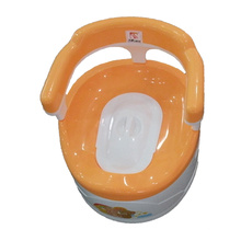 Vente chaude Articles pour bébés Toilette pour bébé en plastique